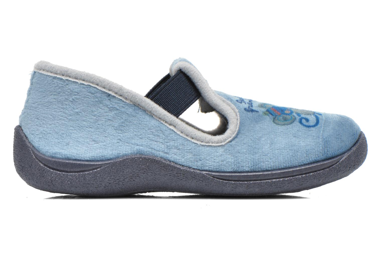 Chaussons Rondinaud DEFI Bleu vue derrière