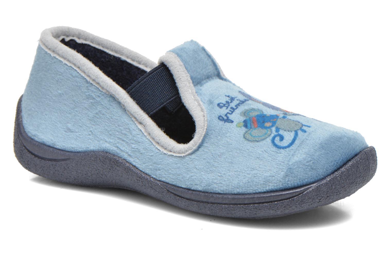 Chaussons Rondinaud DEFI Bleu vue détail/paire
