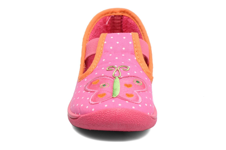 Chaussons Rondinaud DEFI Rose vue portées chaussures