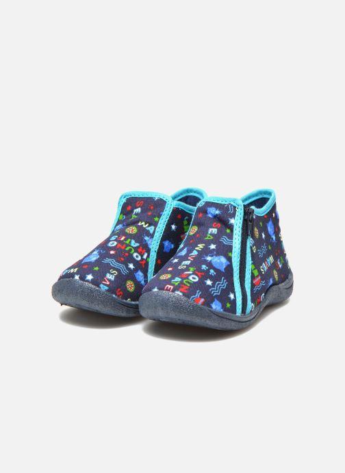 Pantoffels Rondinaud GESSY Blauw 3/4'