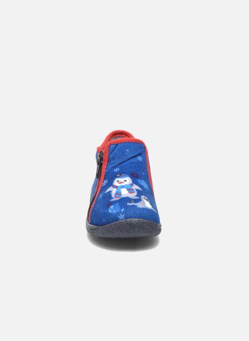 Slippers Rondinaud GESSY Blue model view