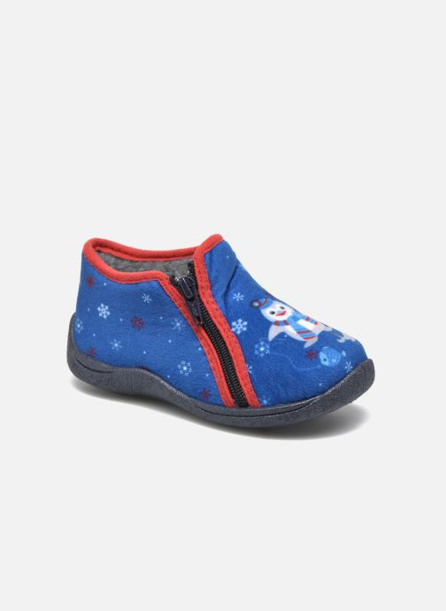 Pantoffels Rondinaud GESSY Blauw detail