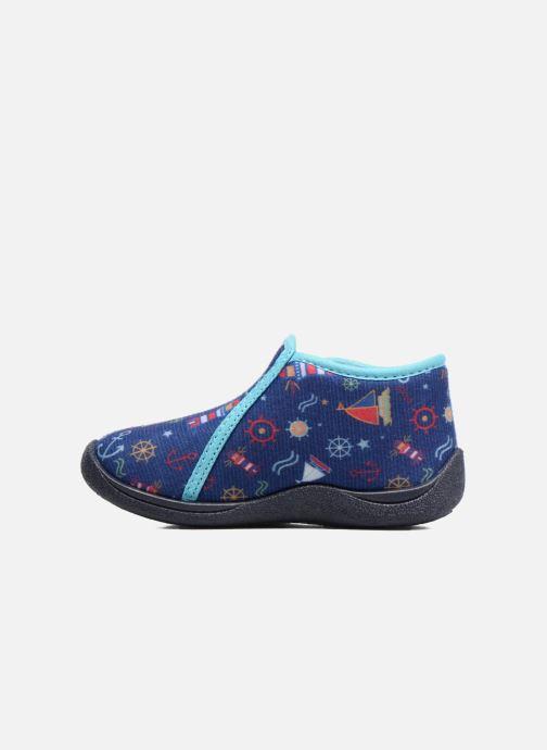 Pantofole Rondinaud GESSY Azzurro immagine frontale