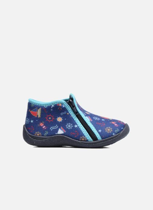 Pantofole Rondinaud GESSY Azzurro immagine posteriore