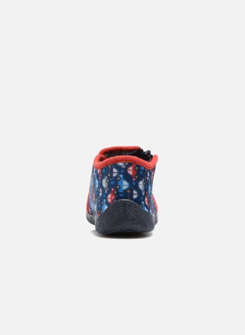 Pantofole Rondinaud GESSY Azzurro immagine destra