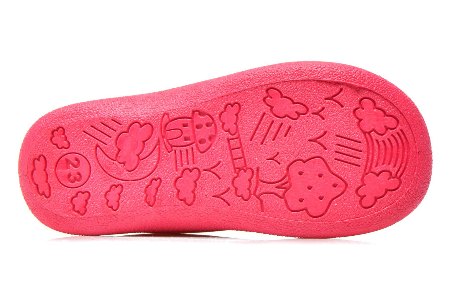 Slippers Rondinaud GESSY Pink view from above