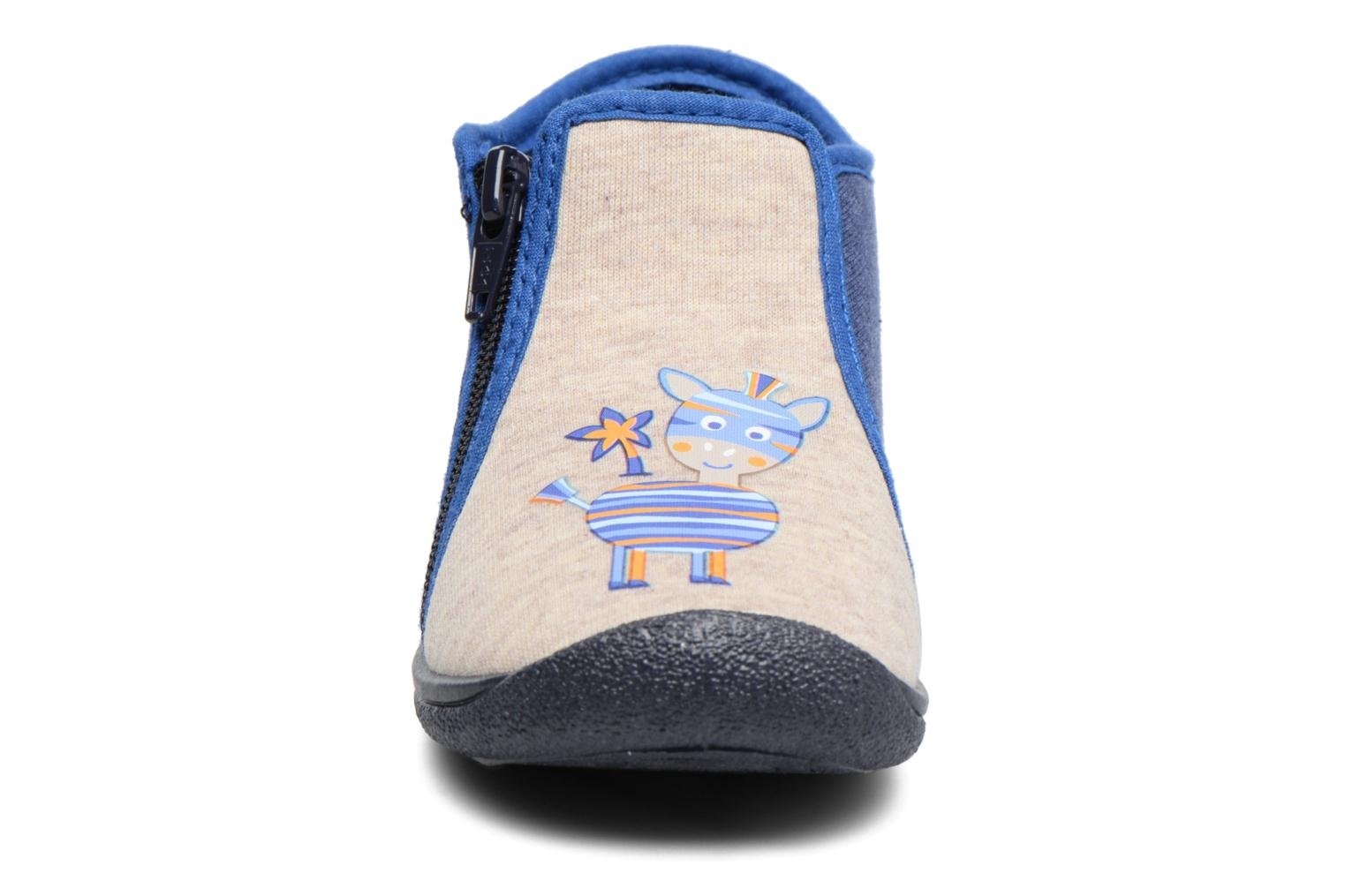Chaussons Rondinaud GESSY Multicolore vue portées chaussures