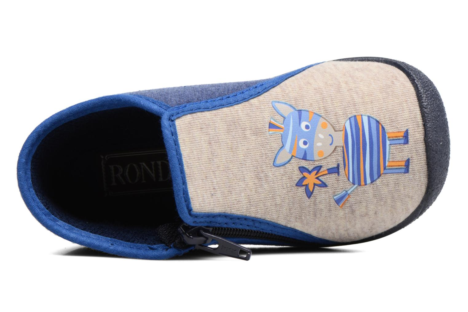Chaussons Rondinaud GESSY Multicolore vue gauche