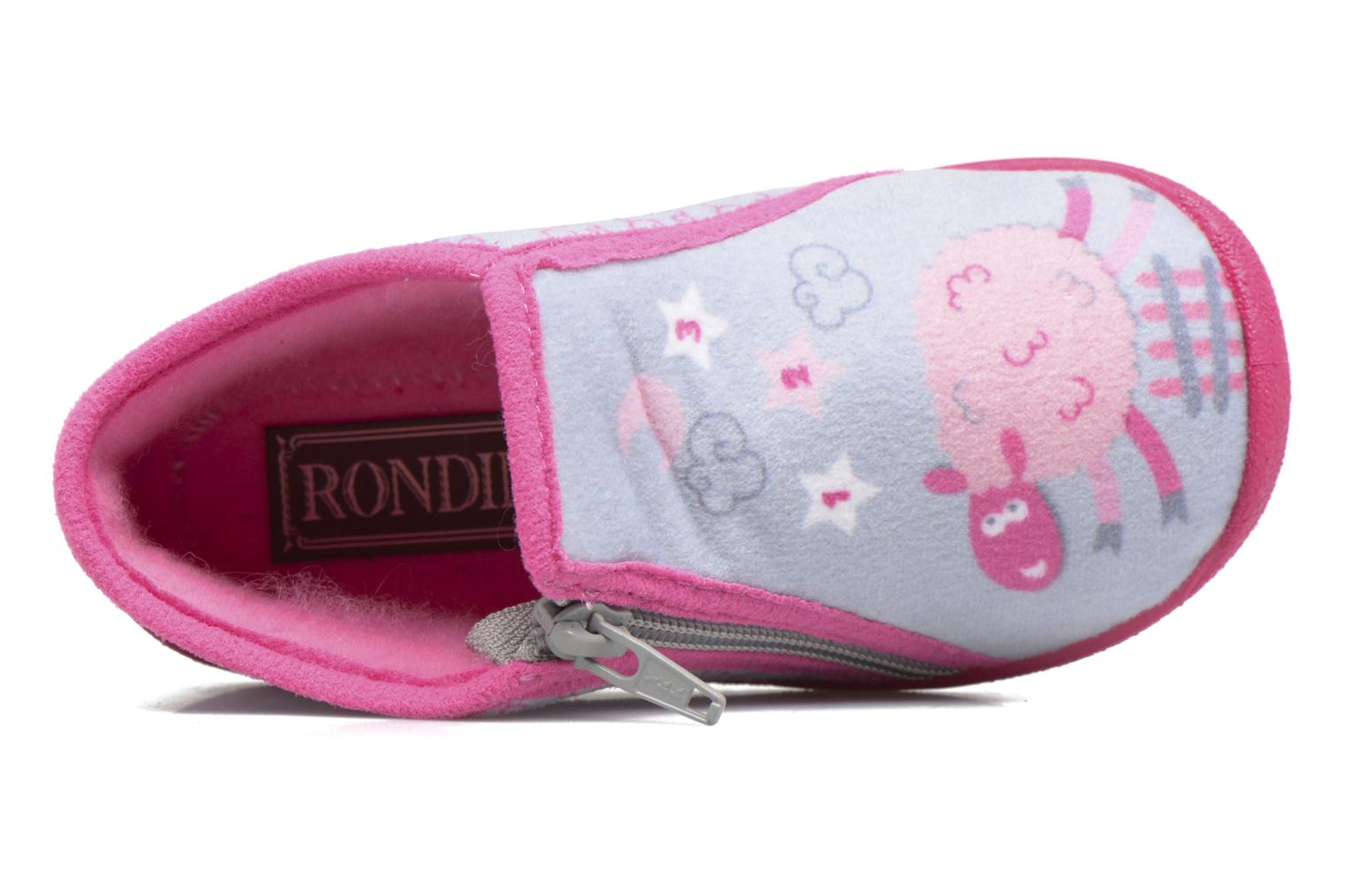 Chaussons Rondinaud GESSY Gris vue gauche