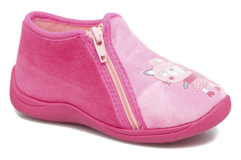 Slippers Rondinaud GESSY Pink detailed view/ Pair view
