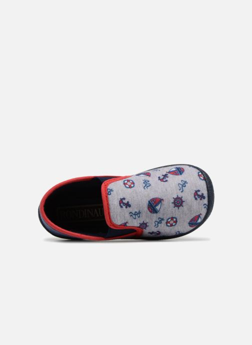 Chaussons Rondinaud JERRY Gris vue gauche