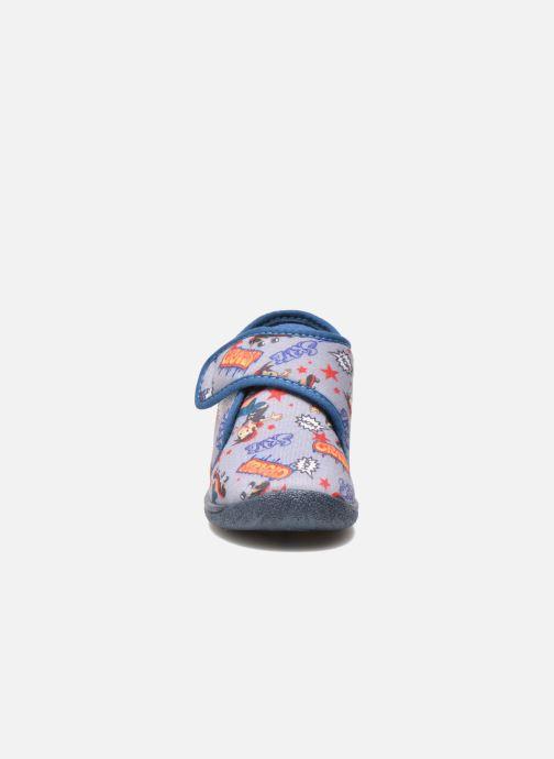 Chaussons Rondinaud RECENT Gris vue portées chaussures