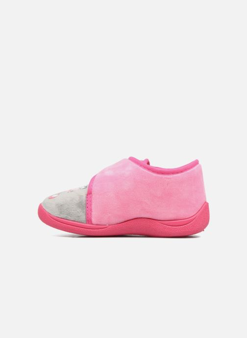 Pantofole Rondinaud RECENT Rosa immagine frontale