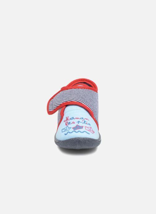 Hausschuhe Rondinaud RECENT blau schuhe getragen