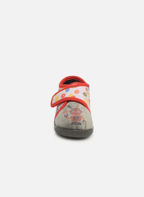 Pantofole Rondinaud RECENT Grigio modello indossato