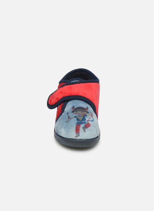 Pantofole Rondinaud RECENT Rosso modello indossato