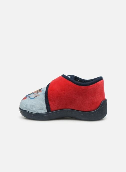 Slippers Rondinaud RECENT Red front view