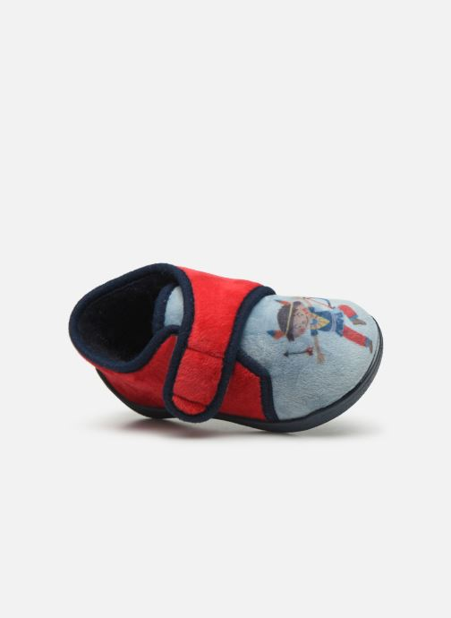 Pantofole Rondinaud RECENT Rosso immagine sinistra