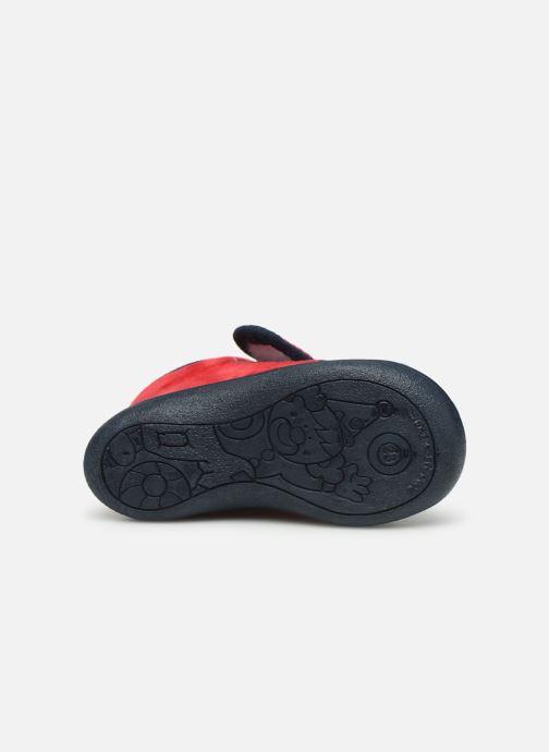 Pantofole Rondinaud RECENT Rosso immagine dall'alto