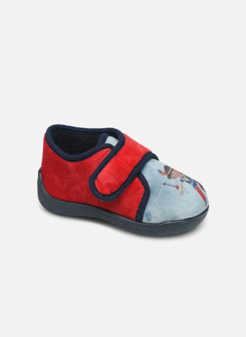 Hjemmesko Rondinaud RECENT Rød detaljeret billede af skoene