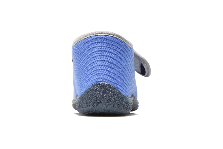 Chaussons Rondinaud RECENT Bleu vue droite