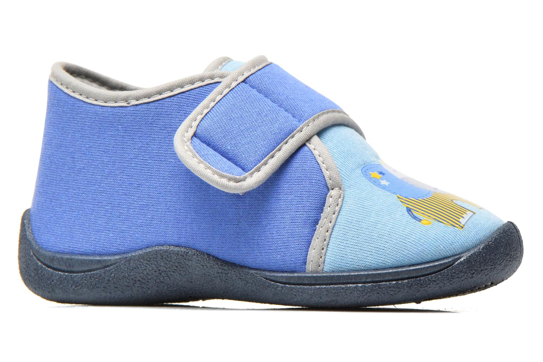 Chaussons Rondinaud RECENT Bleu vue derrière