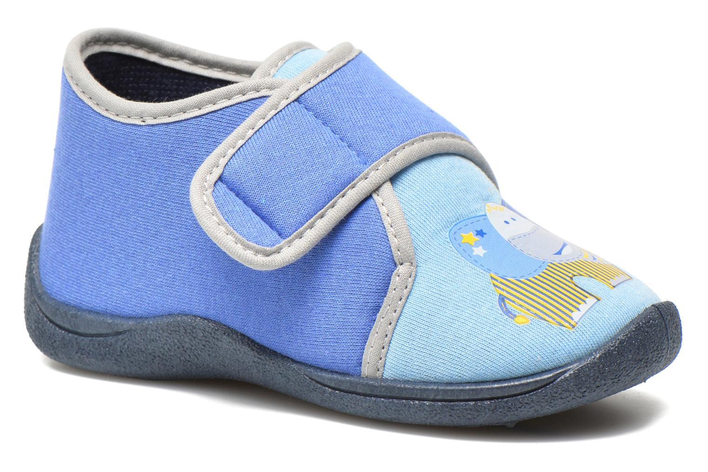 Chaussons Rondinaud RECENT Bleu vue détail/paire