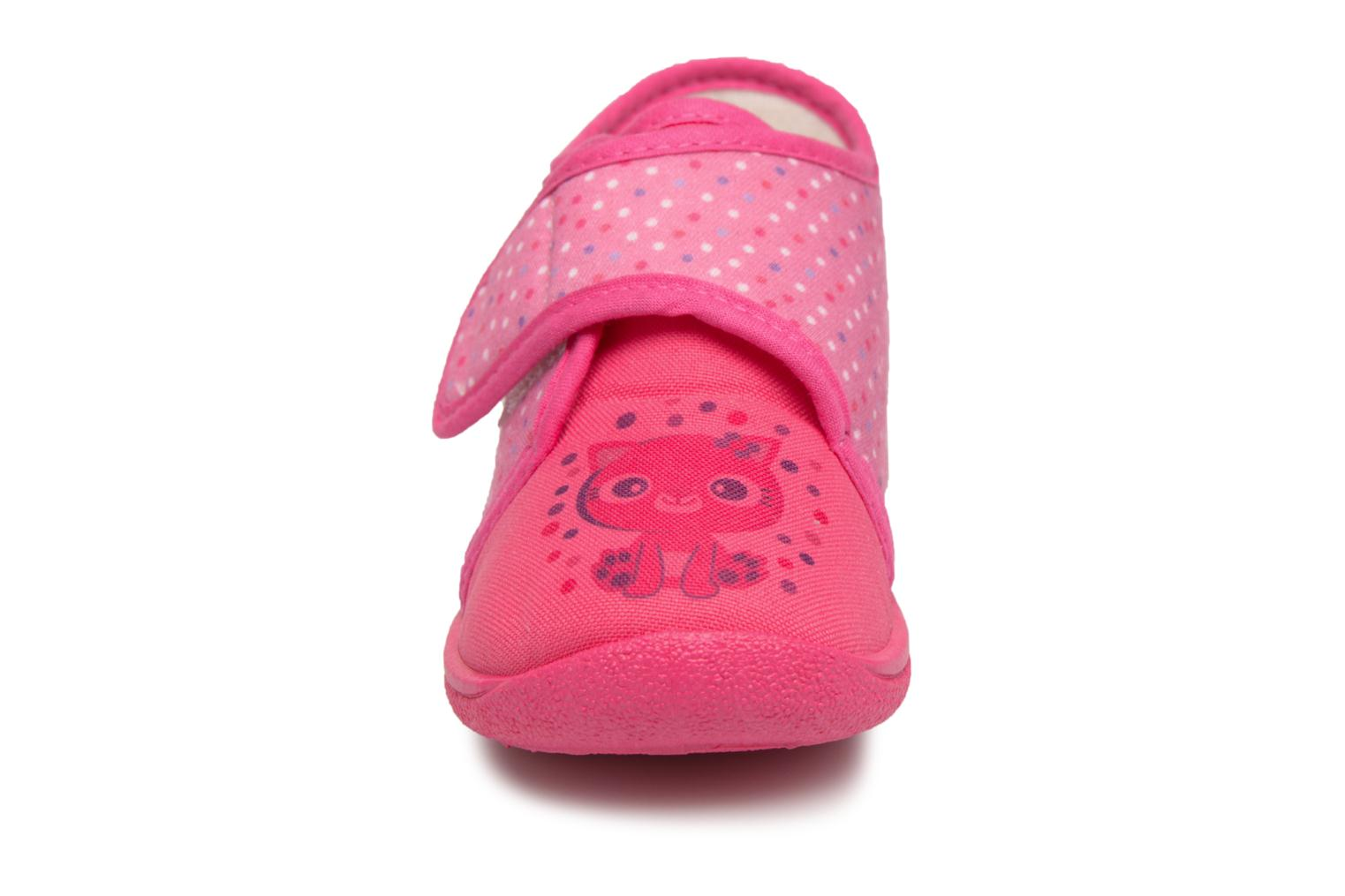 Chaussons Rondinaud RECENT Rose vue portées chaussures