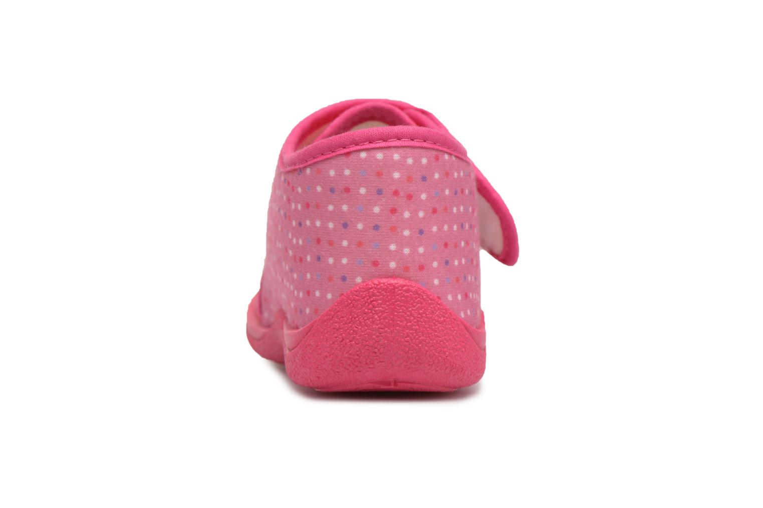 Chaussons Rondinaud RECENT Rose vue droite