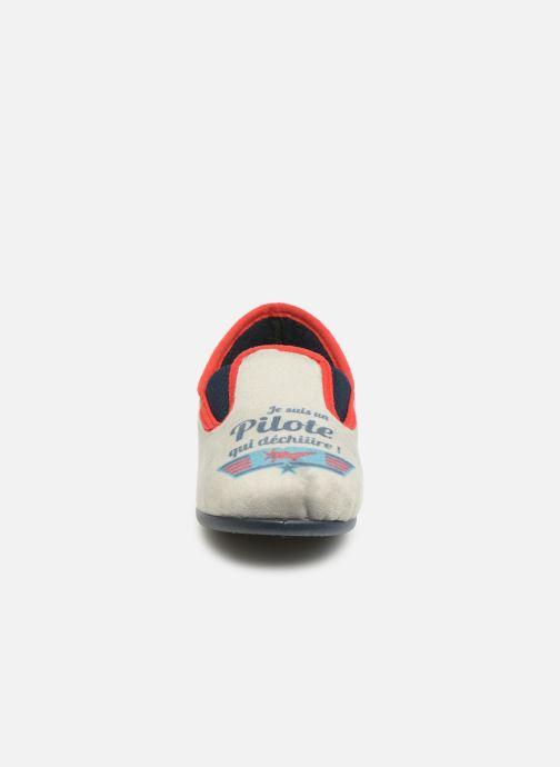 Pantoffels Rondinaud JAVA Grijs model