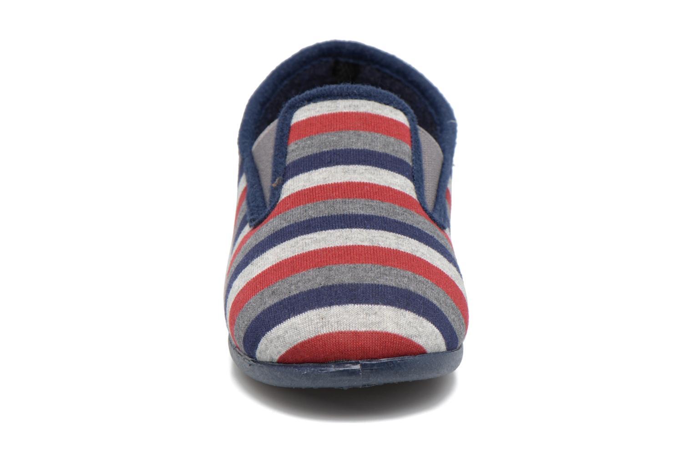Chaussons Rondinaud JAVA Bleu vue portées chaussures