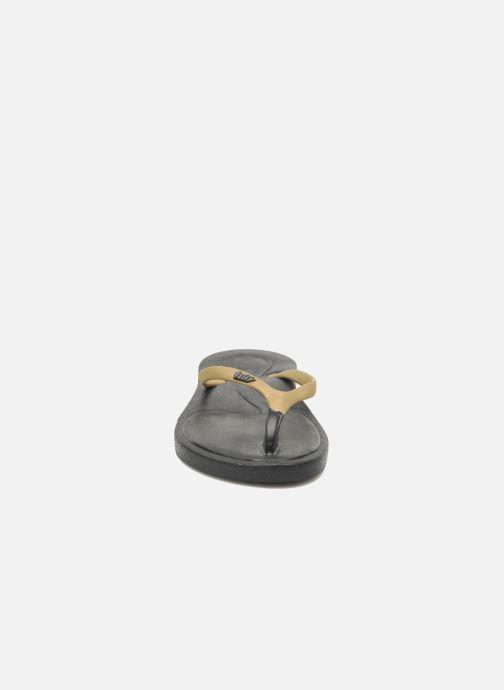 Zehensandalen Ozify Classic W gold/bronze schuhe getragen