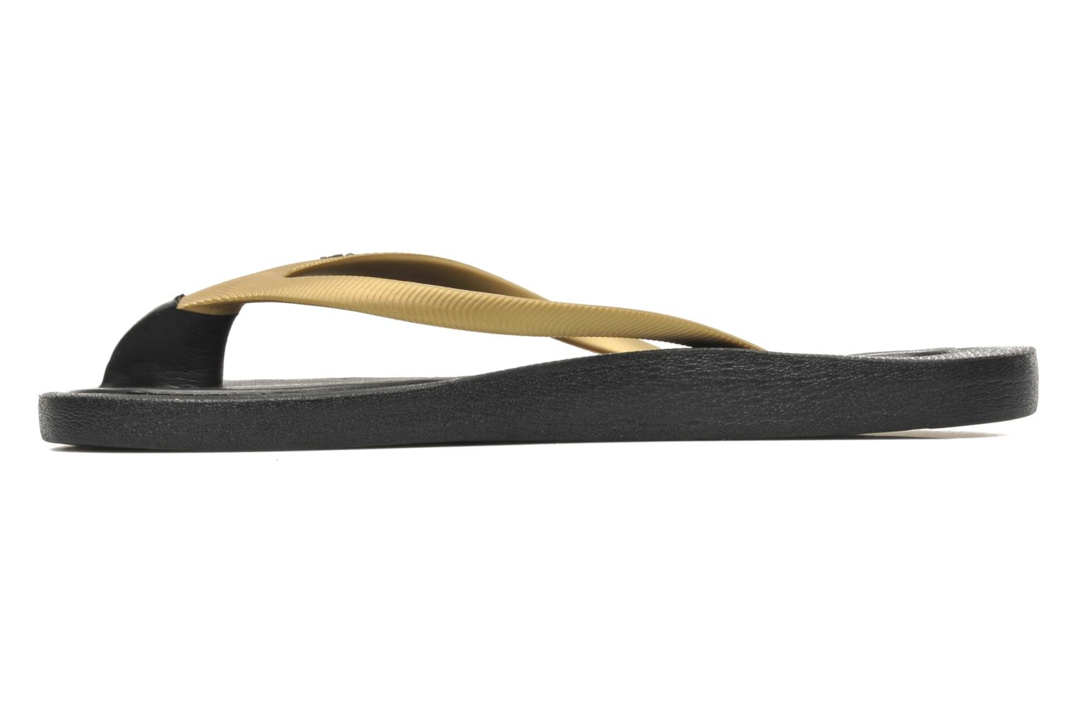 Tongs Ozify Classic W Or et bronze vue face