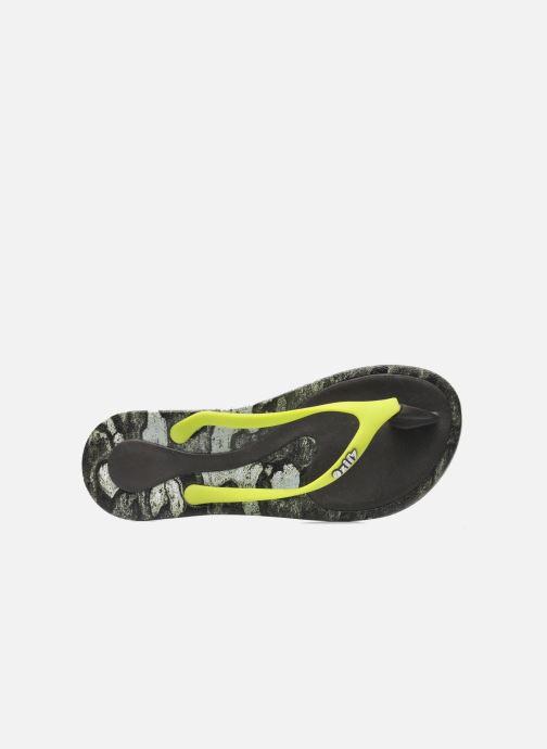 Slippers Ozify Prints W Geel links