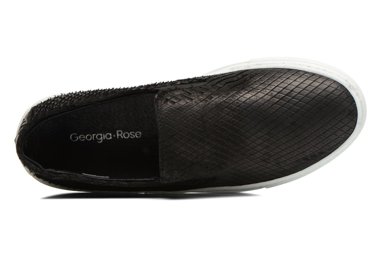 Baskets Georgia Rose Periette Noir vue gauche