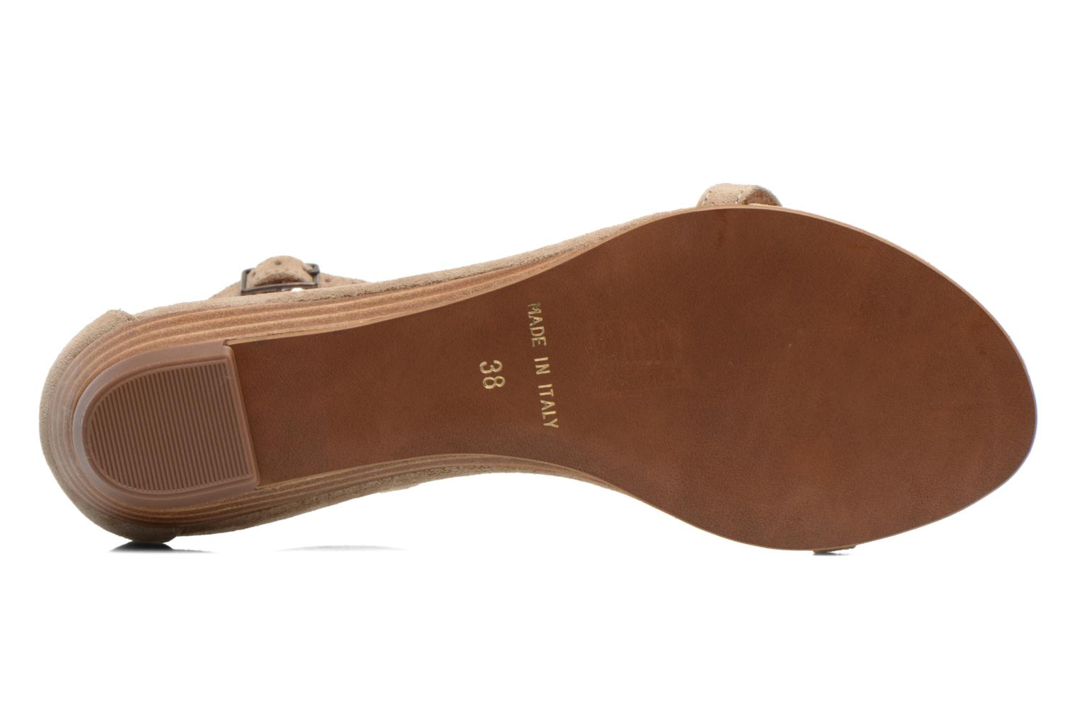 Sandals Georgia Rose Lulab Beige view from above