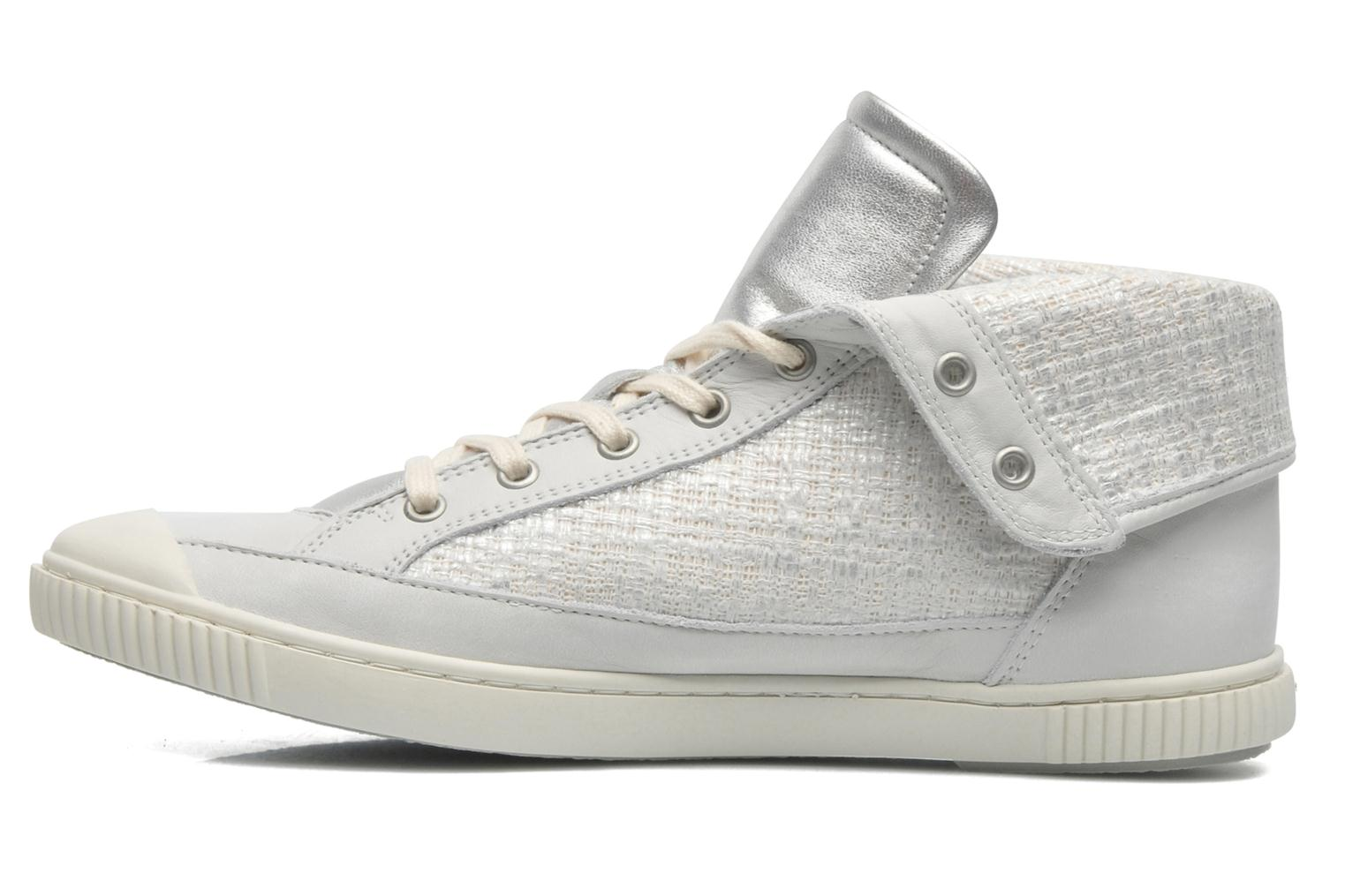 Trainers Pataugas Bandit F Silver front view