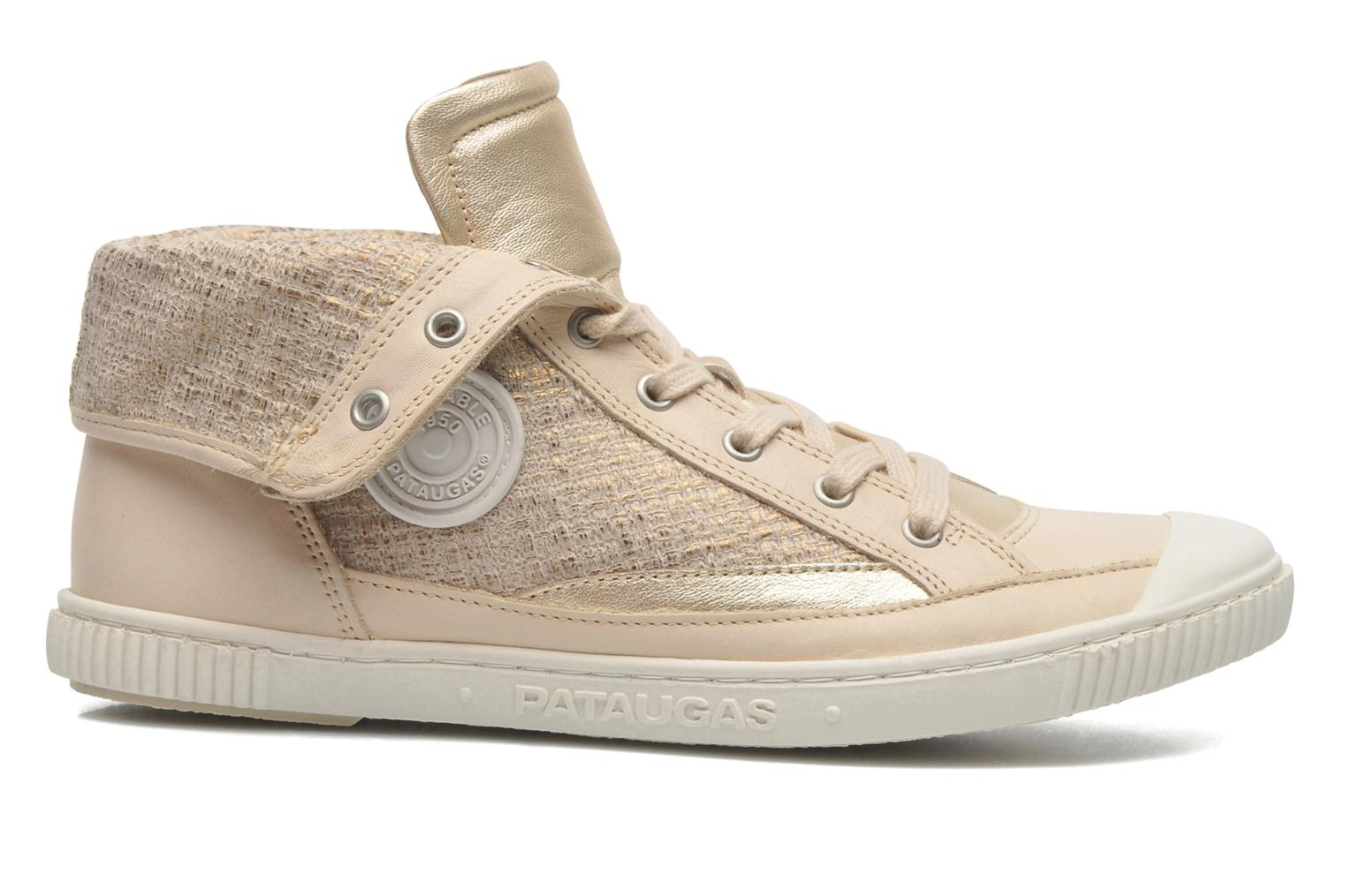 Trainers Pataugas Bandit F Bronze and Gold back view