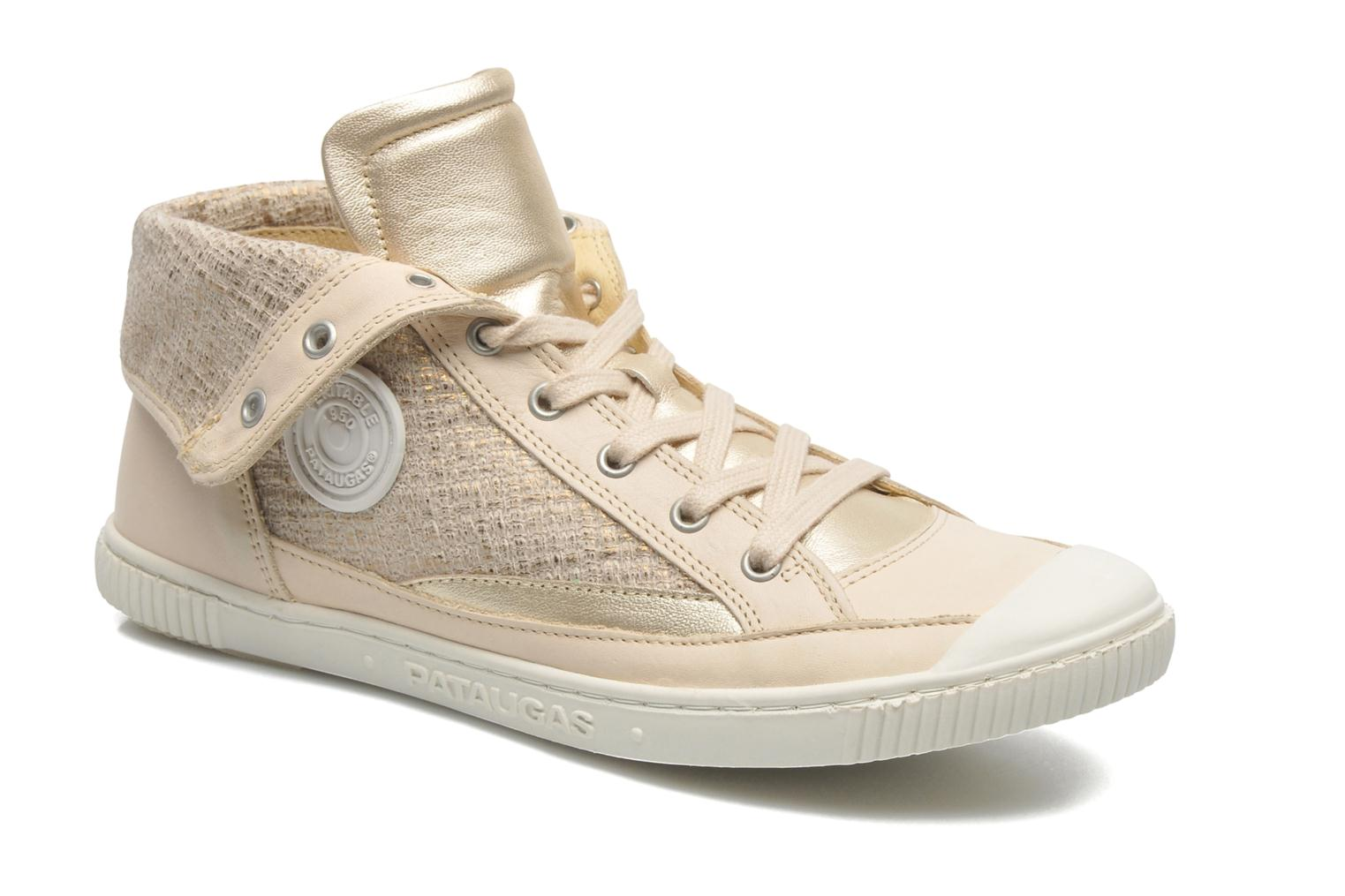 Trainers Pataugas Bandit F Bronze and Gold detailed view/ Pair view