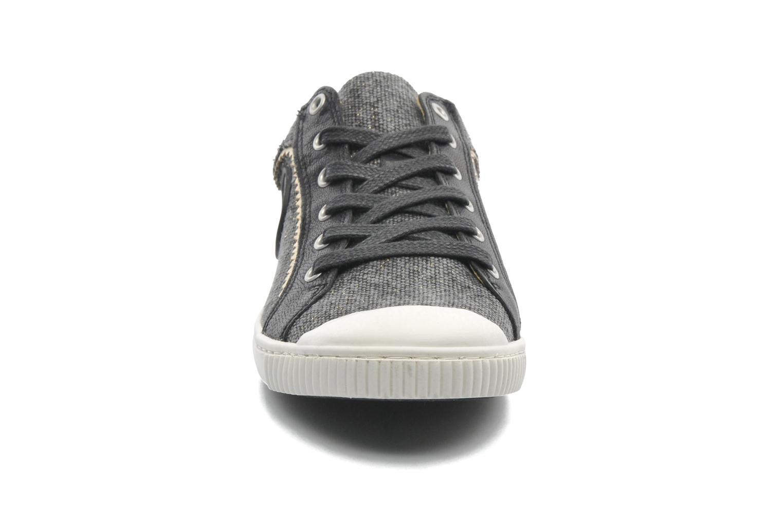 Baskets Pataugas Binoush Noir vue portées chaussures