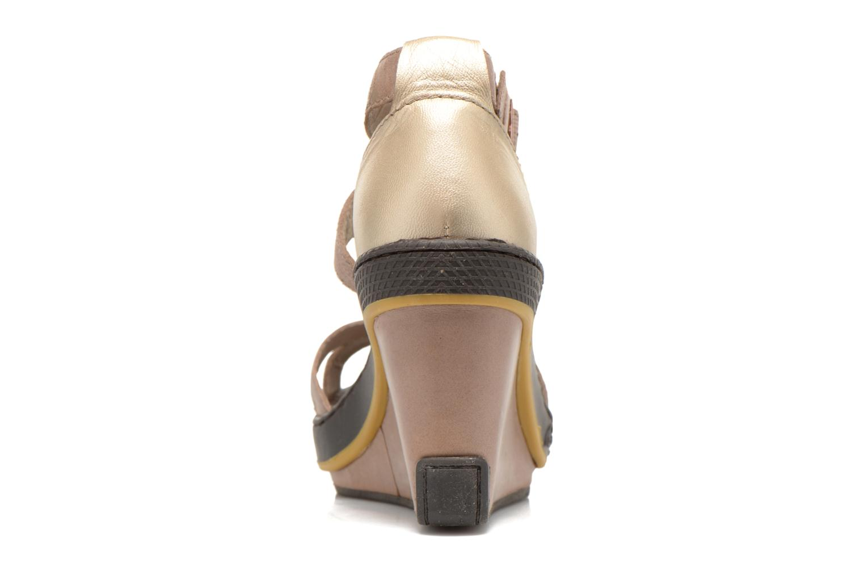 Sandales et nu-pieds Pataugas Gouy Beige vue droite