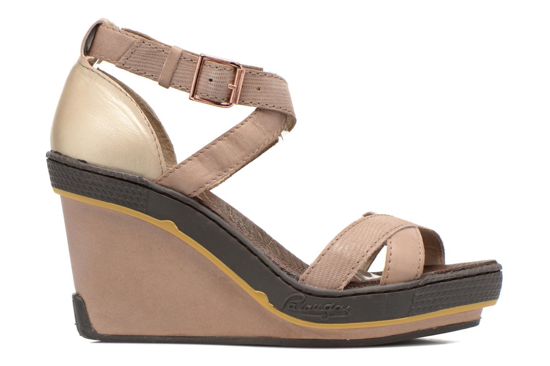 Sandales et nu-pieds Pataugas Gouy Beige vue derrière