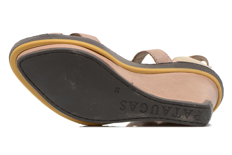 Sandales et nu-pieds Pataugas Gouy Beige vue haut