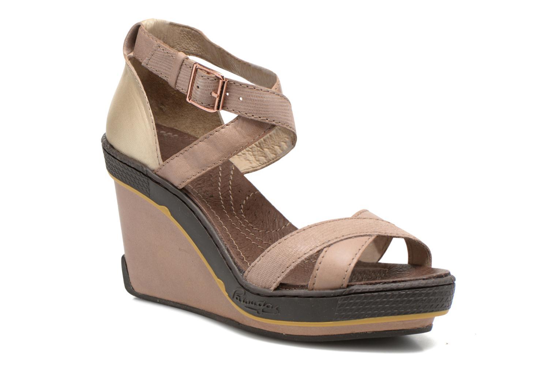 Sandales et nu-pieds Pataugas Gouy Beige vue détail/paire