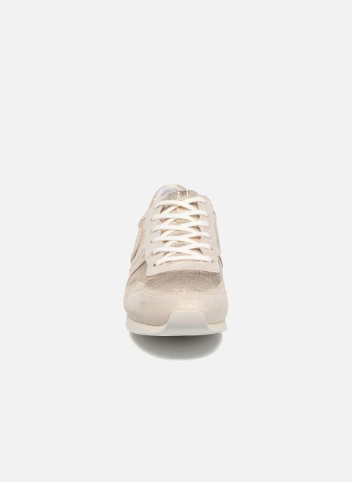 Baskets Pataugas Idol/M Or et bronze vue portées chaussures