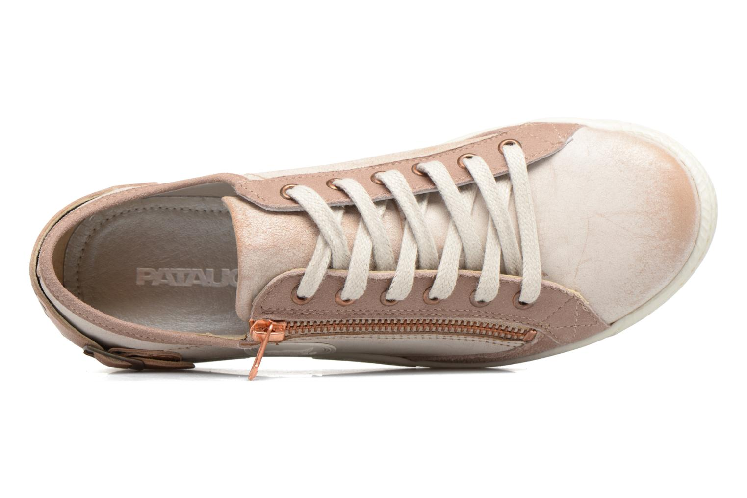 Trainers Pataugas Jester Beige view from the left