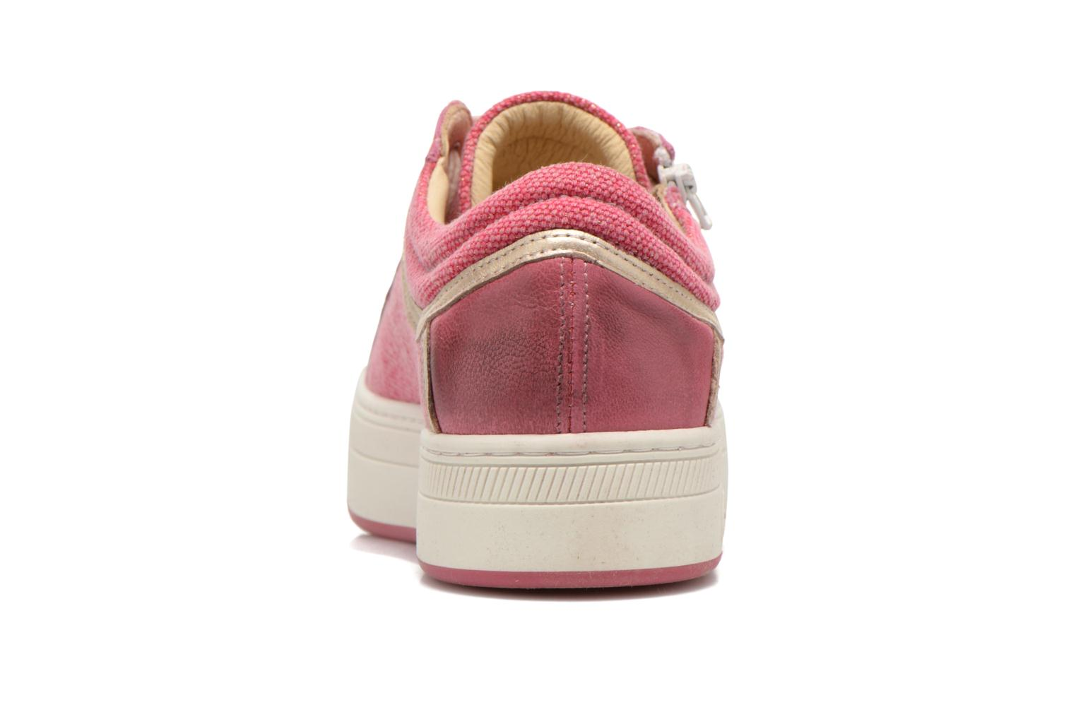 Trainers Pataugas Pix Pink view from the right