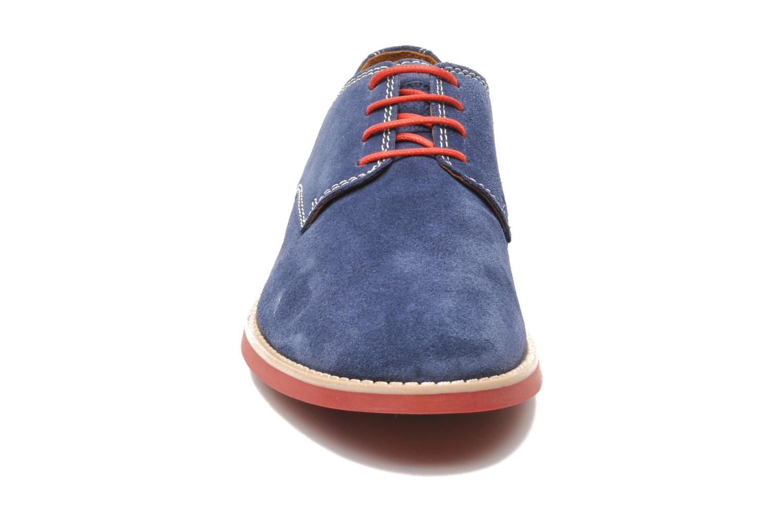 Chaussures à lacets Pataugas Hector H Bleu vue portées chaussures