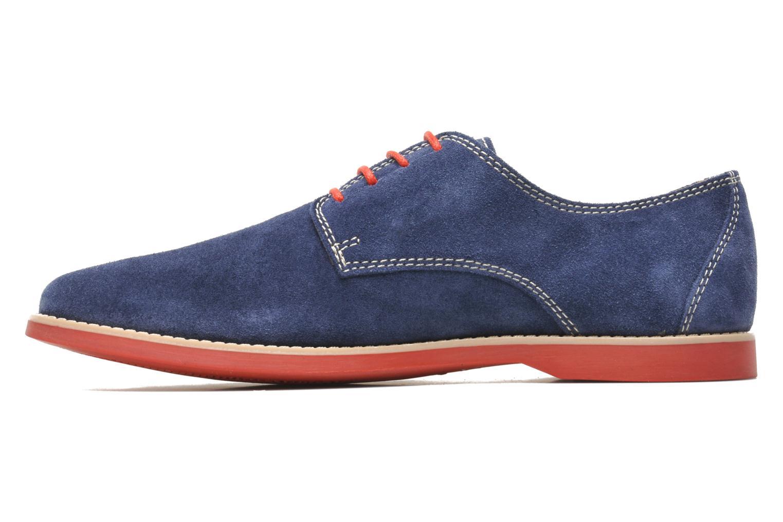 Chaussures à lacets Pataugas Hector H Bleu vue face