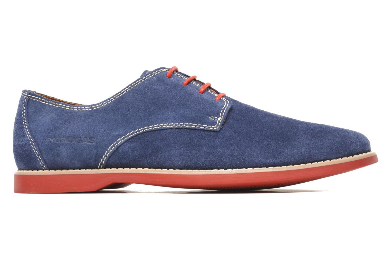 Chaussures à lacets Pataugas Hector H Bleu vue derrière